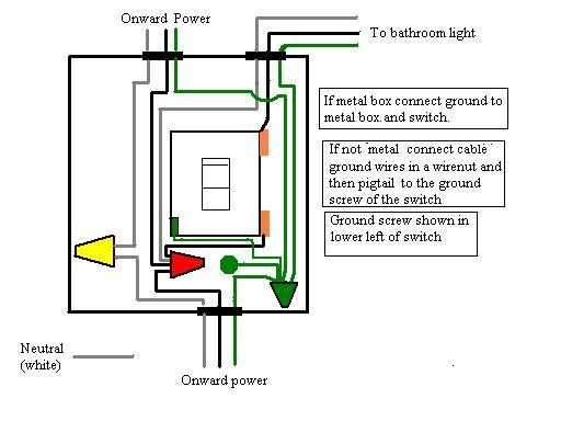 Hall light worked before installing a new light fixture in bathroom-bathroom-light.jpg
