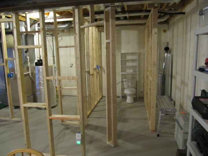 Finishing Basement And Need A Review Of The Plans Electrical Classy Basement Finishing Ideas Plans