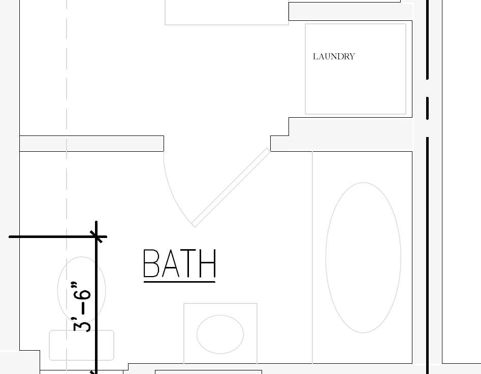 Slim Soffit for Ductwork in Basement-bathroomlayout.jpg