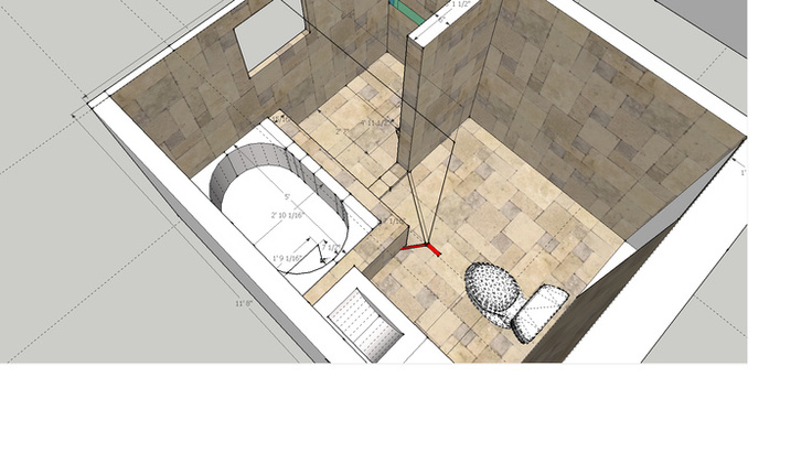 Venting drain for shower and bath-bathtext.jpg