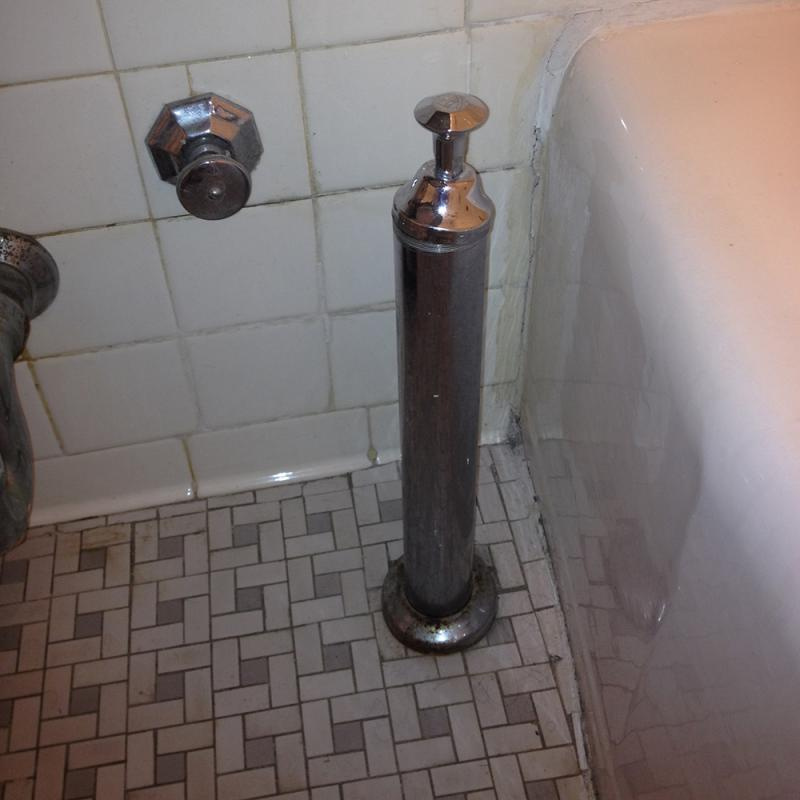 How To Unclog Bathroom Sink Stopper: Desperate! Daily Backup In Bathtub (pics) Please Help
