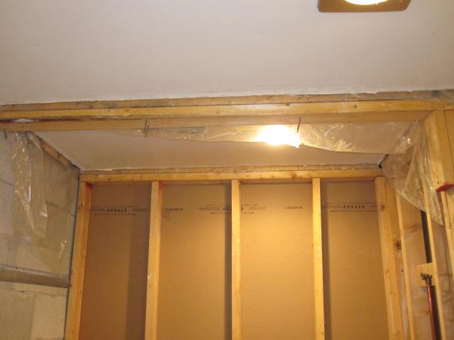 Bathroom Reno Challenges-beam-going-across-former-valance.jpg