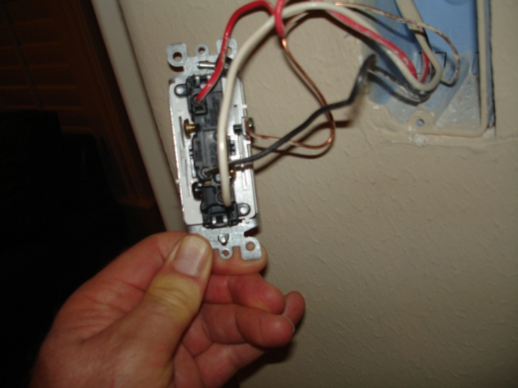 Installing Honeywell 3-way Timer Switch PLS750C - Electrical - DIY ...