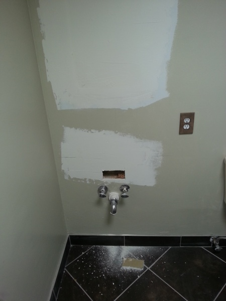 Do I Need To Install A Shutoff Valve On Wall Mounted Sink Pictures Attached Plumbing Diy