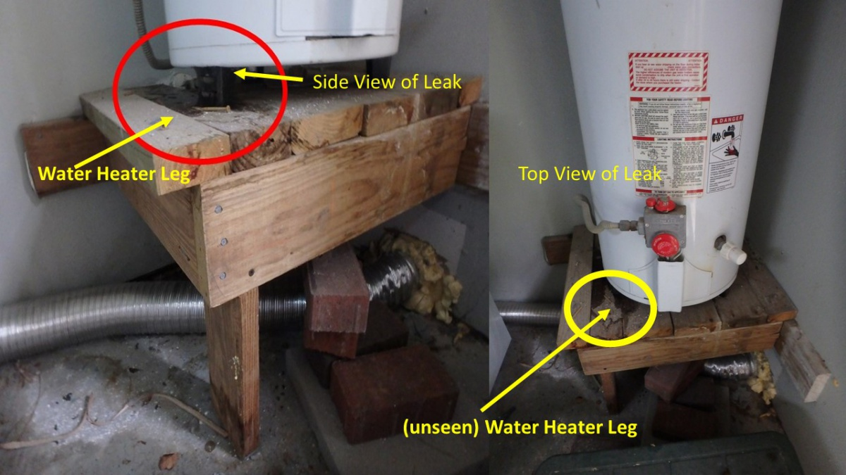Leaking Water Heater  Can U0026 39 T Find Water Shut Off  Other