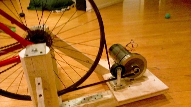 Электрогенератор на велосипед своими руками 99