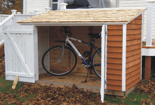 My Bicycle Snowblower Shed Project Showcase Diy Chatroom Home