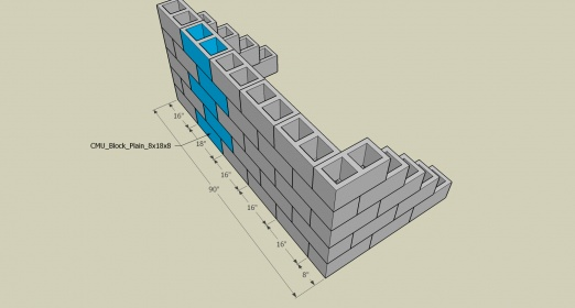 Cmu Course Layout Concrete Stone Amp Masonry Diy