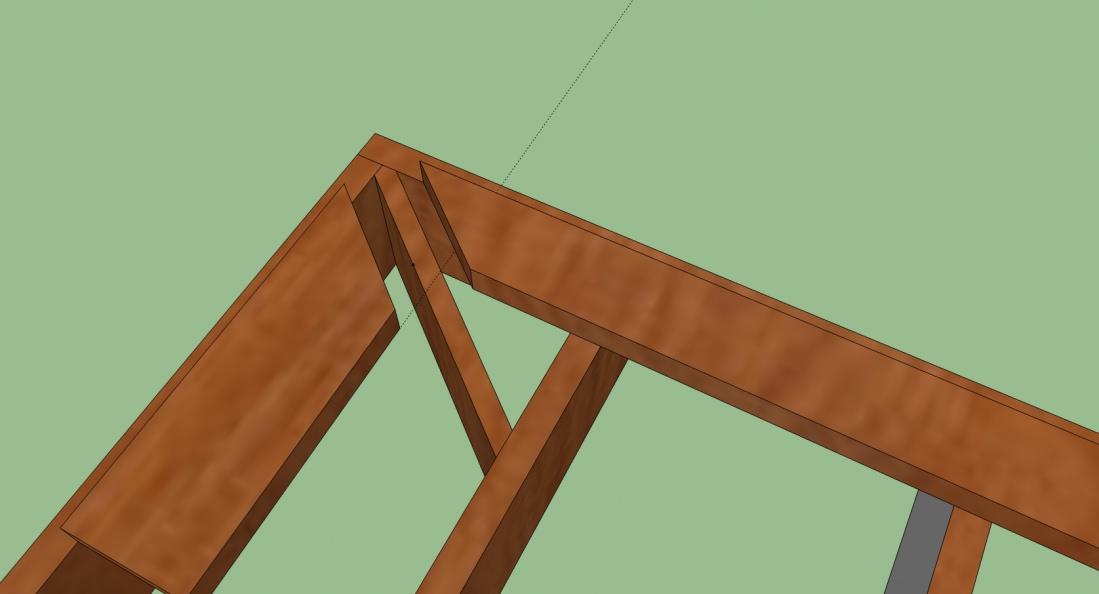 Deck Framing For Mitered Deck Planks Corners Building