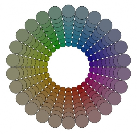 """Turning the """"wrong"""" roof color into an asset?-blue-gray-color-wheel.jpg"""