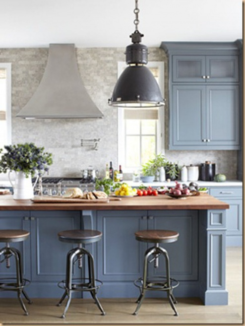 Which Color Of Blue For Kitchen Cabinets - Painting - DIY ...