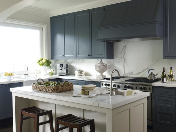 which color of blue for kitchen cabinets blue kitchen 02 jpg