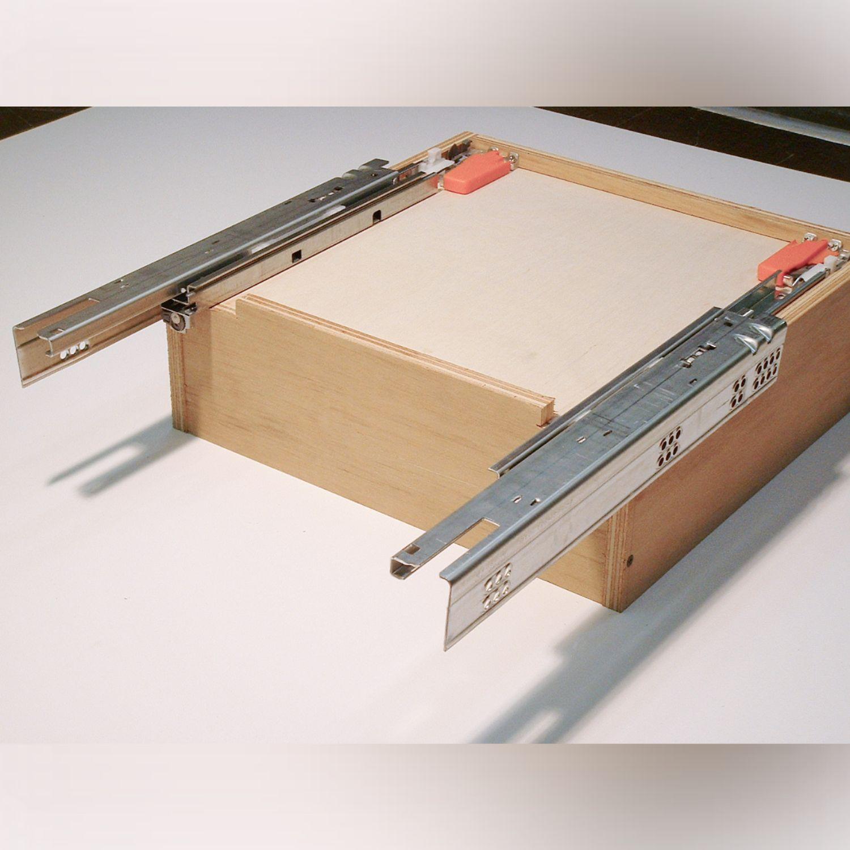 Diy Frameless Cabinet: Which Drawer Slides For Frameless Cabinet?