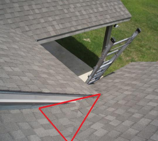 Cricket In Valley Will This Work Roofing Siding Diy
