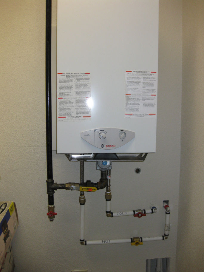 Bosch 1600H Tankless Water Heater HVAC DIY Chatroom Home