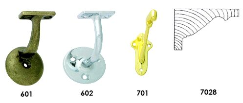 Handrail brackets: do I need anchors in the plaster?-brackets.jpg