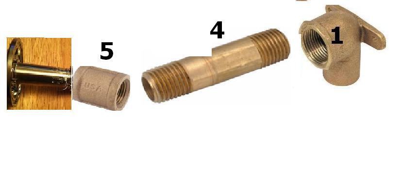 Broken Shower Head Extension (soldered Joint)   Please Help! Brass Coupling