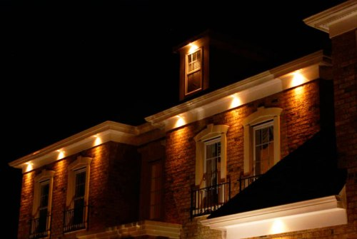 Recessed lighting in roof soffits electrical diy - Recessed exterior lighting fixtures ...