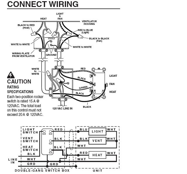 14248d1255910300 bathroom light exhaust fan heater wiring broan100hl broan 678 wiring diagram diagram wiring diagrams for diy car repairs heater wiring diagram at gsmx.co