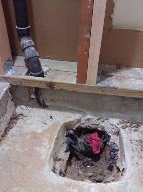 HELP! Broken Shower drain connection to ABS Trap-broken-pipe.jpg