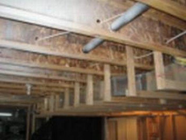 Drop Beam Under Floor Joists Building Amp Construction