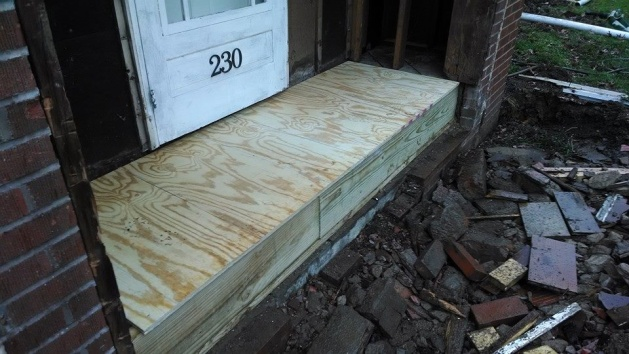 Rebuilt front porch--how to prep for tile-build1.jpg