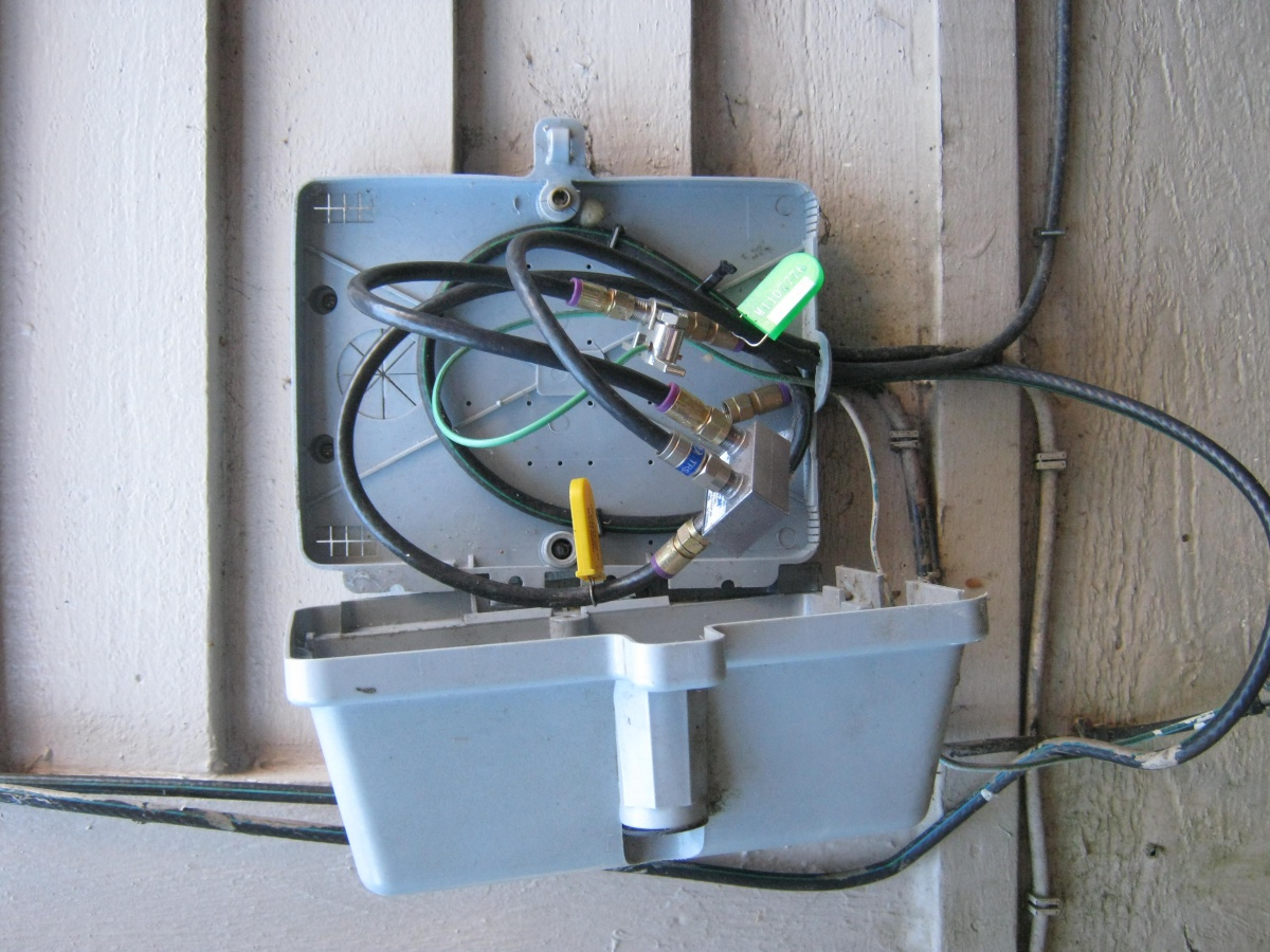 Wires To House Need Help Identifying Which Are Cable Telephone Wiring Of A Dsl Cablebox