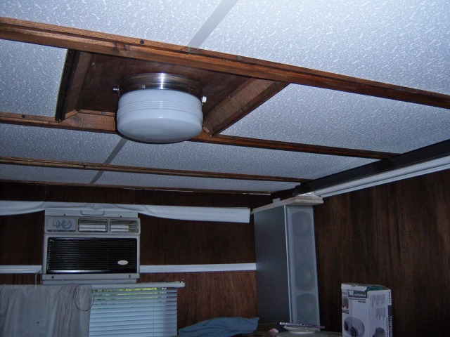 An Easy Way To Replace The Roof Liner In An Rv Carpentry