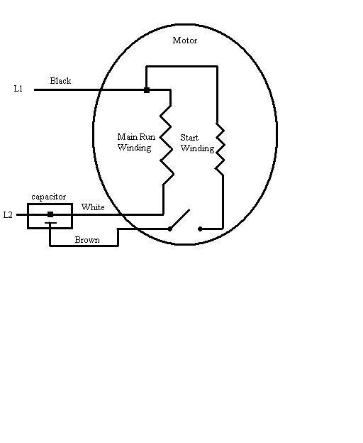 diagram for 220v motor wiring with capacitors need help wiring old 220v fan motor electrical page 2 diy  need help wiring old 220v fan motor