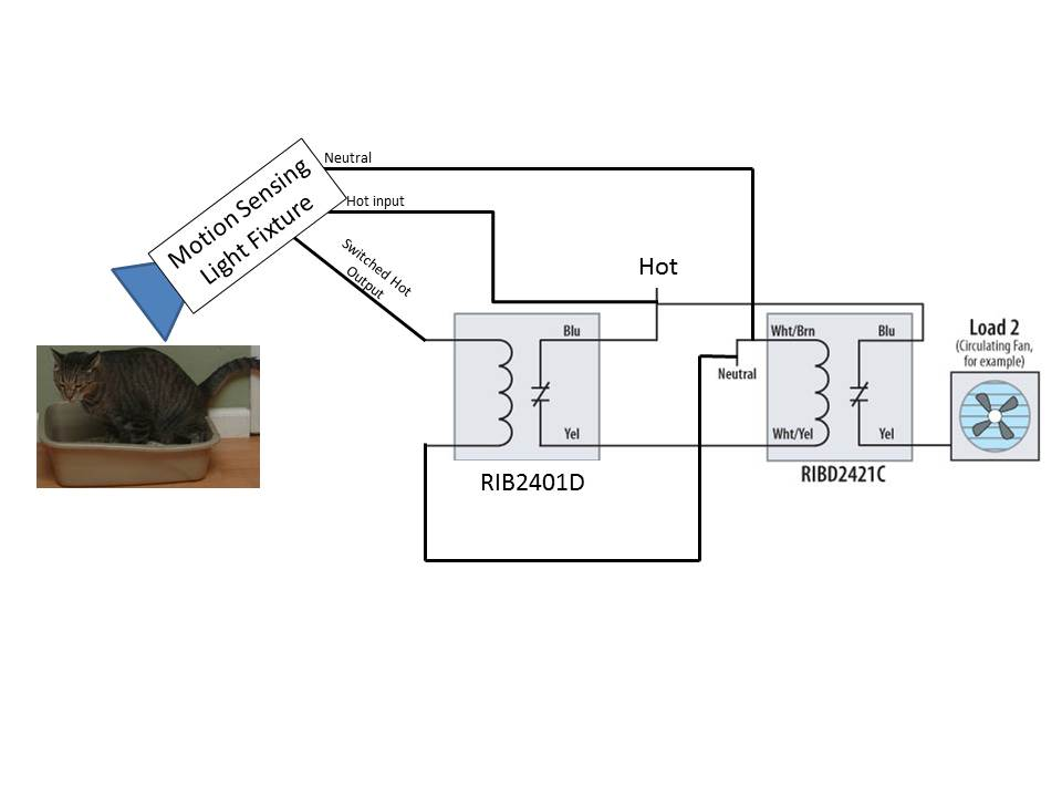 motion detection followed by delay then a timer electrical rh diychatroom com Rib Relay LS1 Wiring-Diagram