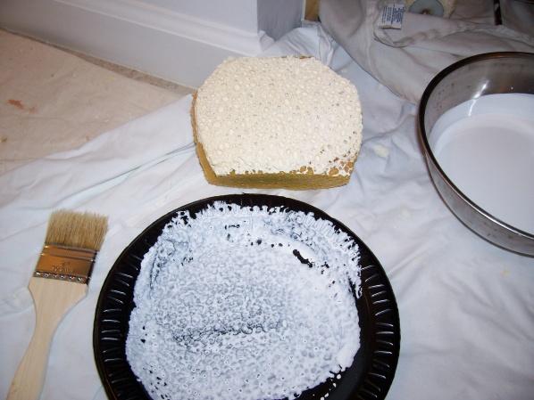 how to make semi gloss paint flat