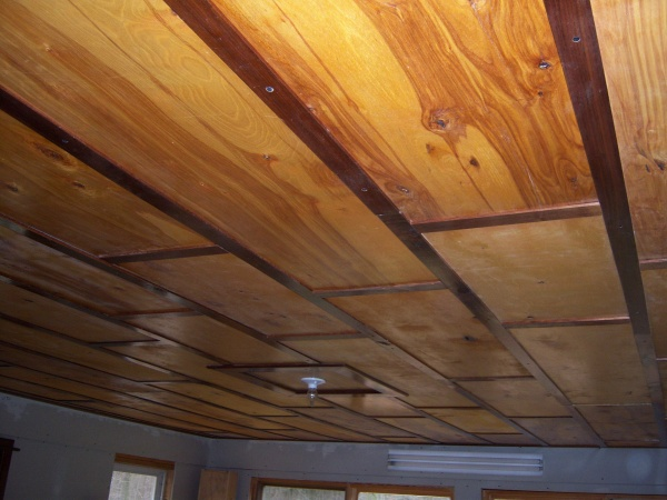 My  (300 sq. ft.) Homemade Birch/Walnut Ceiling-ceiling-done-2-.jpg