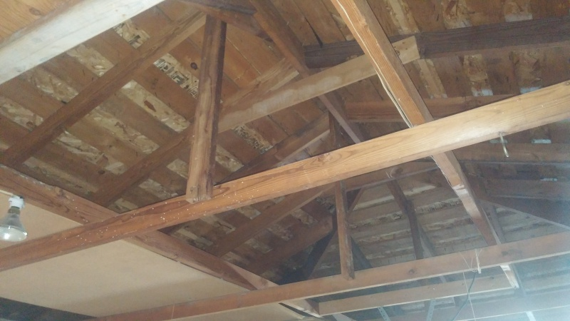 Garage Ceiling Framing Confusion Ceiling Joists