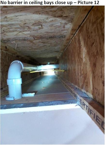 ... Master Bedroom Cold Above Garage Ceiling4 ...