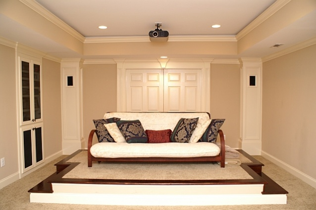 Crown molding on with catherderal celing for LED lights-chambers-theater-4r.jpg