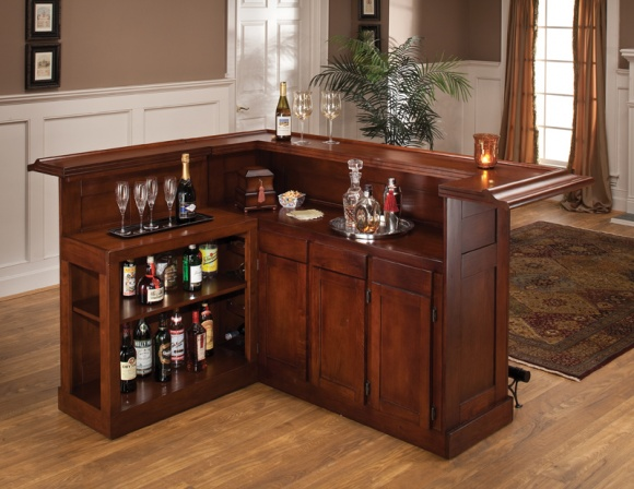 How to finish a wood bar top so it won't get drink ring stains?-cherry-wood-bar.jpg