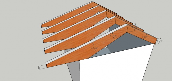 Framing Roof For Chicken Coop - Building & Construction - DIY ...