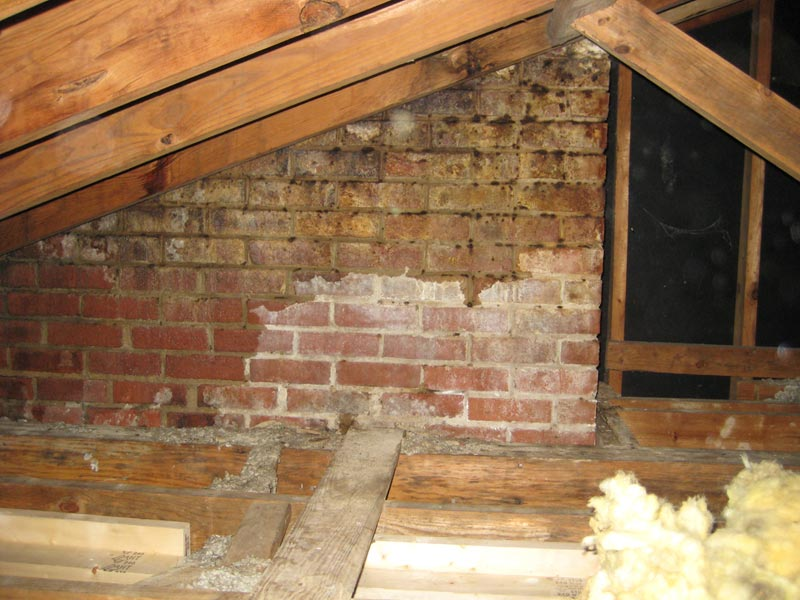 Persistent Leak Chimney Or Roof Roofing Siding Diy