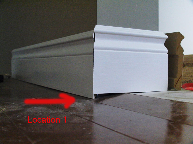 Baseboard Problem Carpentry Diy Chatroom Home