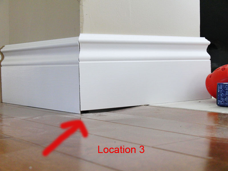 Transition And Baseboard How To Install Laminate Flooring Project ...