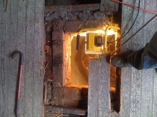 Unbelieveable - HUGE Hole Appears in Back Yard!-cistern-1.jpg