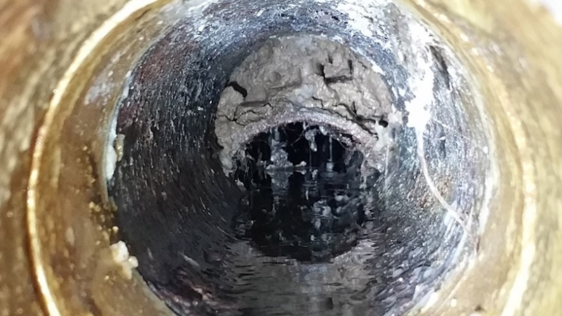 Sump pit filling faster when showers running...-cleanout.jpg
