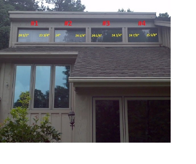 Replacing Clerestory Windows Windows And Doors Diy Chatroom