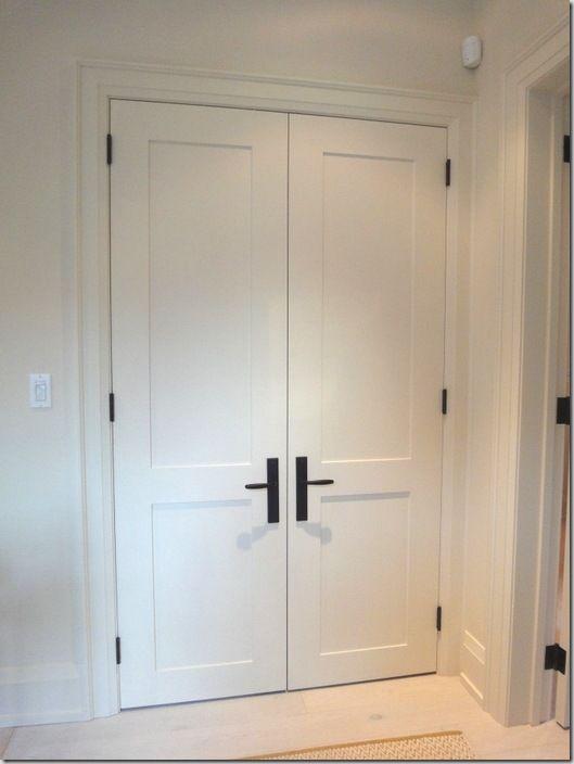 Perfect ... DIY Shaker Style Closet Door Help Closet 1 ...