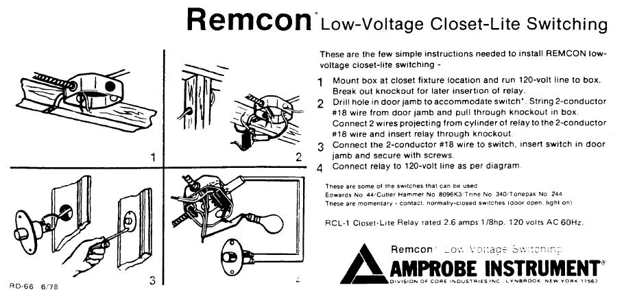 1831d1196920171 automatic closet lights closet relay 1 closet light relay 2 roselawnlutheran remcon relay wiring diagram at n-0.co