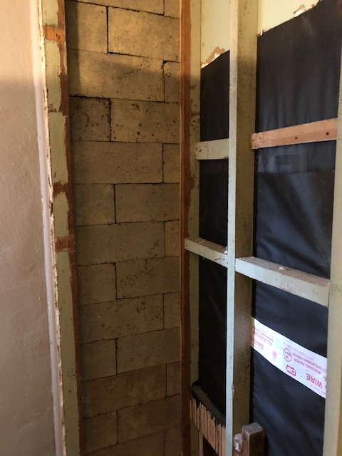 Captivating Preventing Moisture/ Mildew In Closet   When One Wall Is Masonry Closet Wall