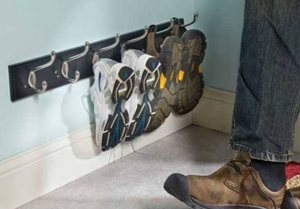 shoe cabinet in a tight entrance space-coat-hook-shoes.png