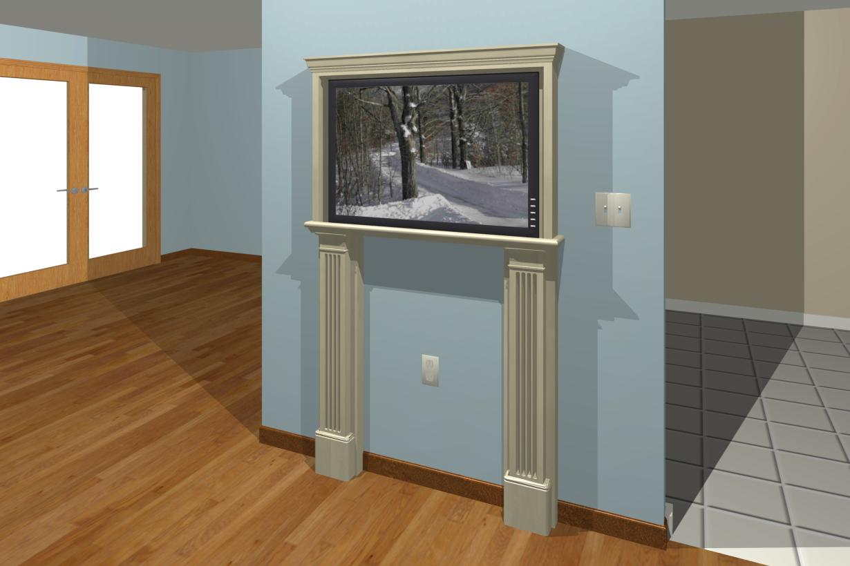 "How to spice up tv on the wall...looks ""bland""-color-antique.jpg"