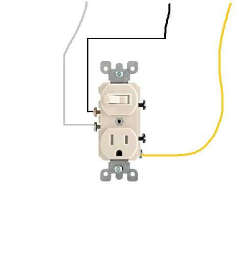 Impressive Light Switch Outlet Combo Wiring 503 x 518 · 12 kB · jpeg