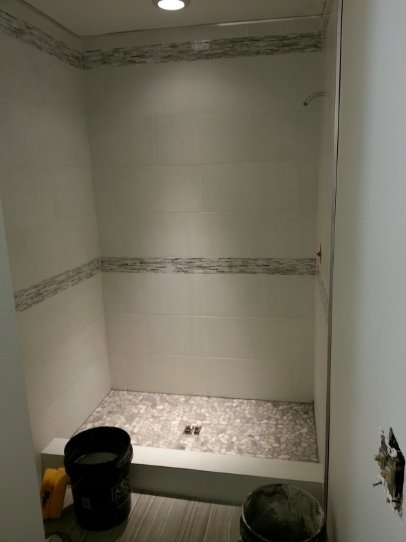 First Time Reno Attempt ...Venting-completed-shower.jpg